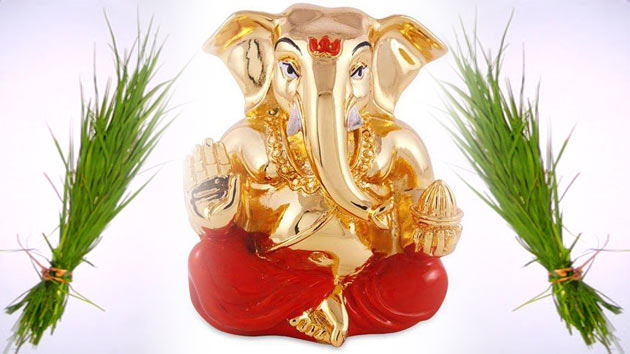 durva grass dear to lord ganesha